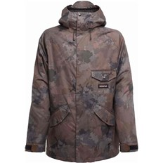 Jacke SESSIONS - Scout Jacket Camo Black (CBK)