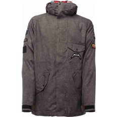 Jacke SESSIONS - Metallica Colab Jacket Charcoal (CHA)